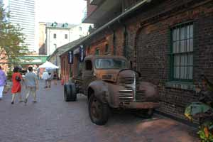 distillery district old truck