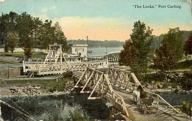 locks at port carling 1910